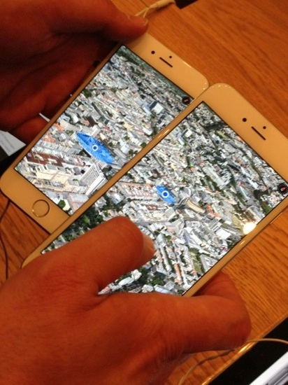 Video iPhone 6 und iPhone 6 Plus Maps