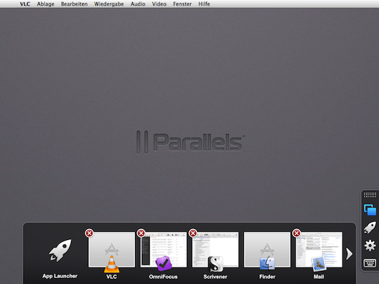 Parallels Access App Switcher